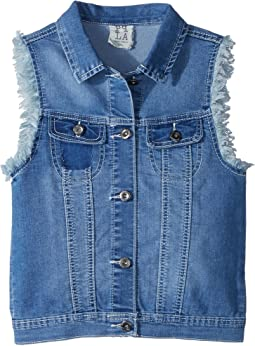 People's Project LA Kids - Blossom Woven Vest (Big Kids)