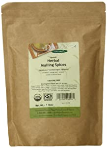 Davidson's Tea Bulk, Loose Mulling Spice, 16-Ounce Bag