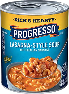 Progresso Rich & Hearty Lasagna-Style Soup (Pack of 12)