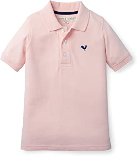 Hope & Henry Boys Soft Lightweight Pique Polo Made with Organic Cotton