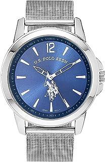Men's Quartz Watch with Alloy Strap, Silver, 16 (Model:...