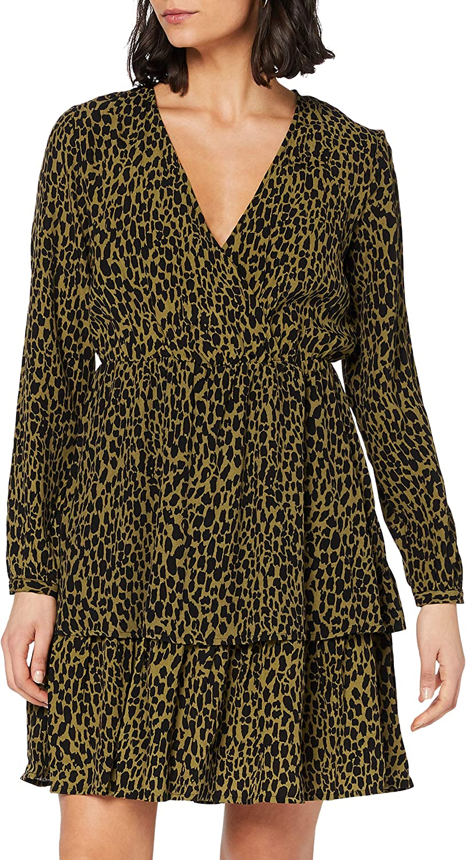 Vila Damen Viviska L/S Dress/Su Kleid  Amazon.de Bekleidung