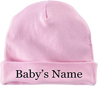 BeeGeeTees Personalized Keepsake Cap Custom Infant Hat for Baby with Baby Name Beanie