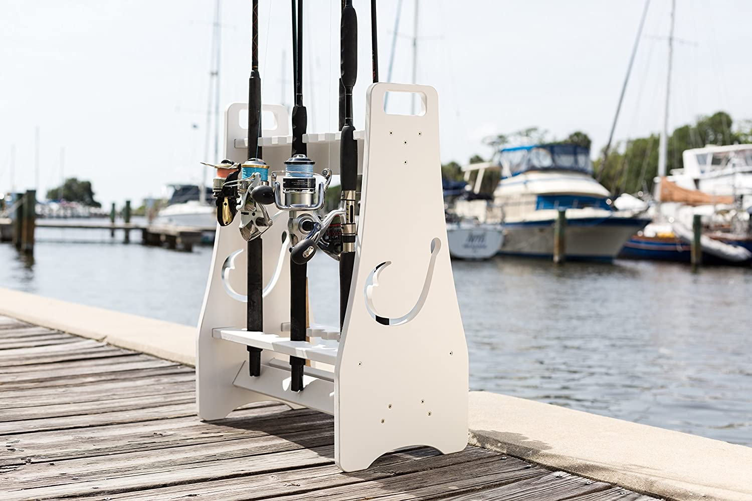Fishing Rod Rack - Safety and trust Hook Design Store Organize to up 18 Ranking TOP19 Fis