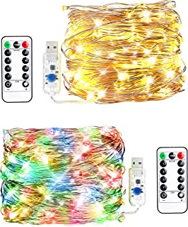 Best plug in fairy lights for bedroom Reviews