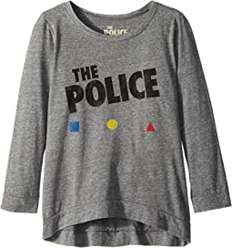 The Original Retro Brand Kids - The Police 3/4 Tri-Blend Pullover (Big Kids)