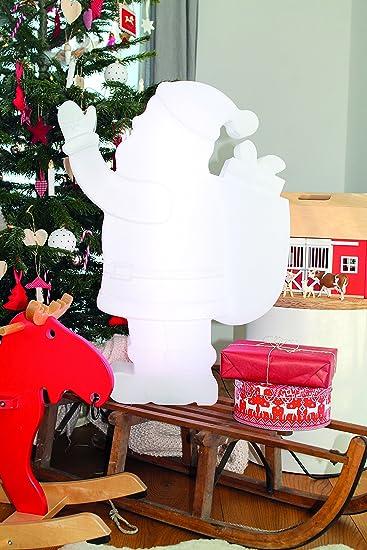 Polyethylen 8 Seasons Design wei/ß Weihnachtsbaum H/öhe 40 cm Shining Tree Mini