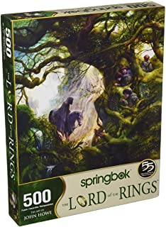 Springbok's 500 Piece Jigsaw Puzzle Black Rider Lord of The Rings - Made in USA
