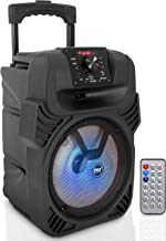 "400W Portable Bluetooth PA Loudspeaker – 8"" Subwoofer System, 4 Ohm/55-20kHz,.."