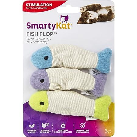 SmartyKat, Fish Flop, Soft Plush Cat Toys