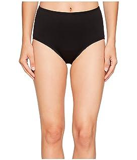Solid High Waist Bikini Bottom