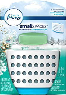 Febreze Small Spaces Fresh Cut Pine Starter Kit Air Freshener (1 Count, 5.5 Ml), 0.009 Pound