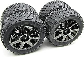 Trophy Truggy Tires & Wheels 1/8 17mm hex Tyres (HPI Flux 107018
