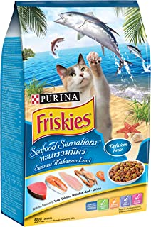 Friskies Purina Seafood Sensation Cat Food 3Kg(Pack of 1)