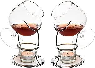 Chantr/é Schwenker 6er Set geeicht bei 2/&4 cl Weinbrand Glas ~mn 895 1254