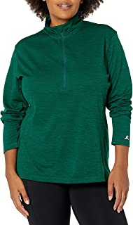 Russell Athletic Women's Lightweight Performance 1/4 Zip Warm Up Jacket