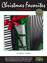 Christmas Favorites for Accordion with Performance CD