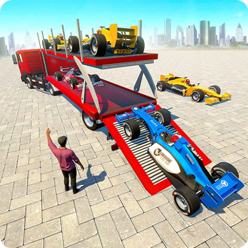 Formula Truck Transport Car and Cruise Ship Game