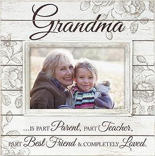 Best Malden International Designs Sun Washed Words Grandma Cream Distressed Picture Frame, 4x6, Cream Review