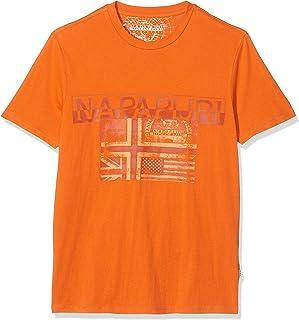 Sawy Amber Orange Camiseta para Hombre