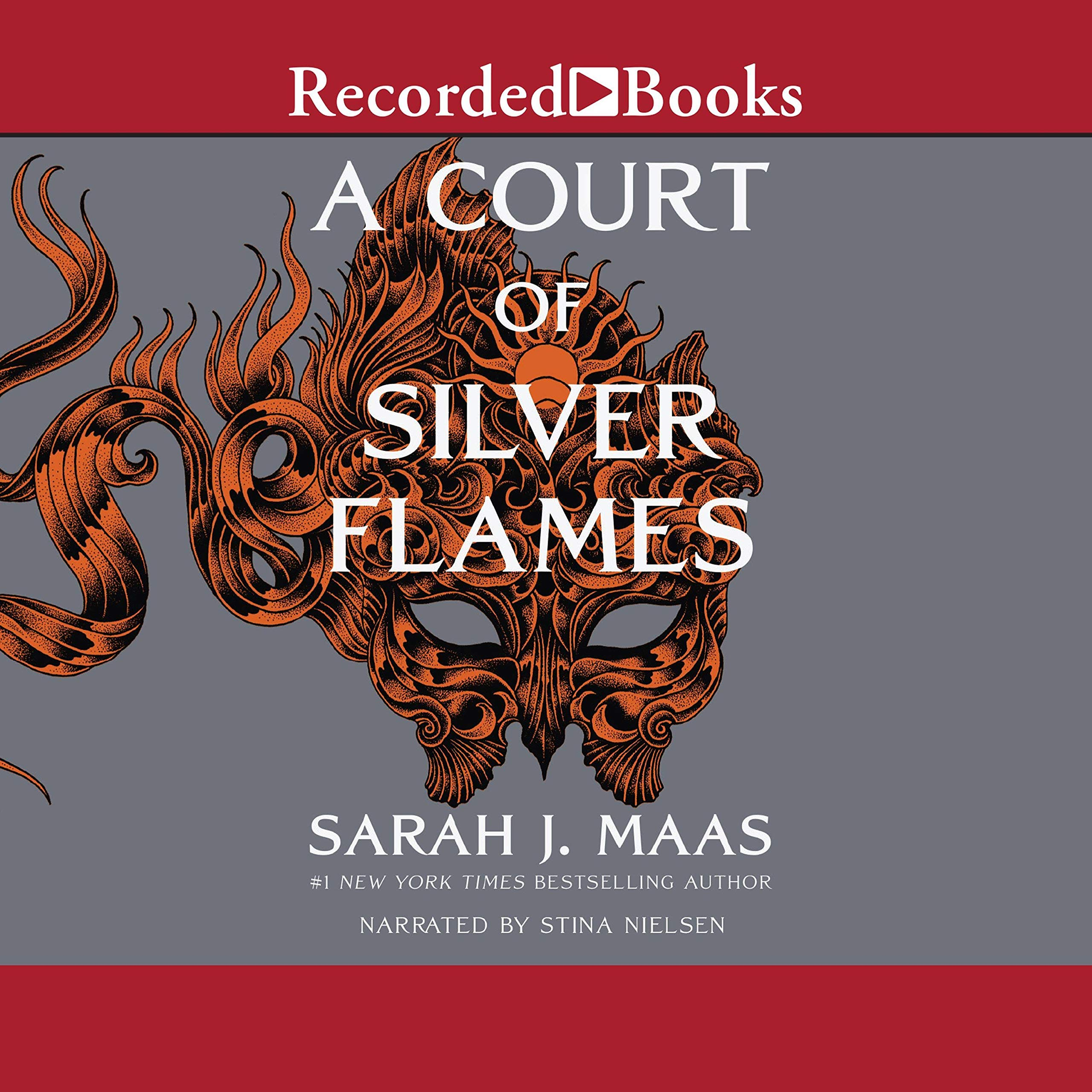 Cover image of A Court of Silver Flames by Sarah J. Maas