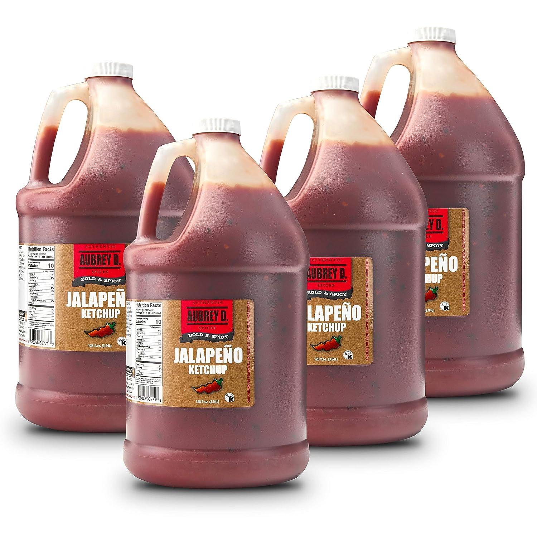 Aubrey D. 1 year warranty Jalapeno Ketchup Food Restaur Spicy Sauce Service San Jose Mall for
