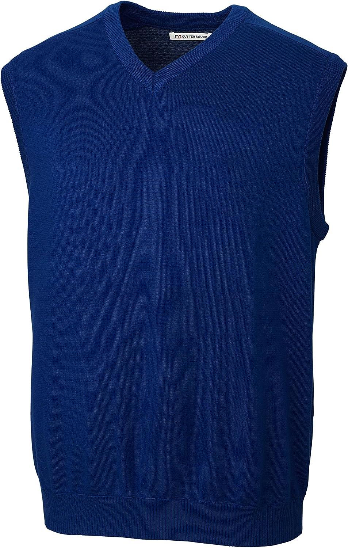 Cutter & Buck BCS01422 Men's Broadview V-Neck Sweater Vest