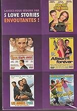 Coffret 5 Love Stories - Elle est trop bien + Adam Serial Lover + Allison Forever + Les années lycée + Crossroads