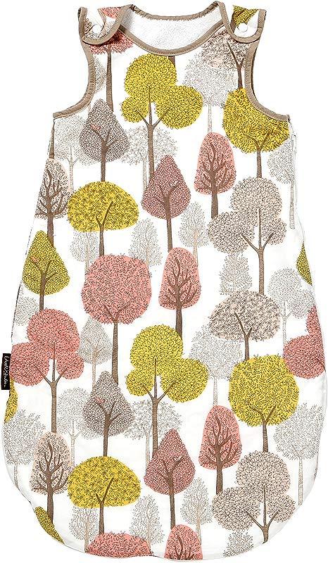 DwellStudio Velour Lined Night Sack Treetops