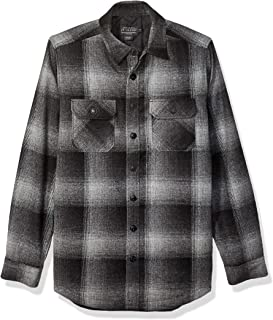 Men's Quilted CPO in Wool Shirt Jacket