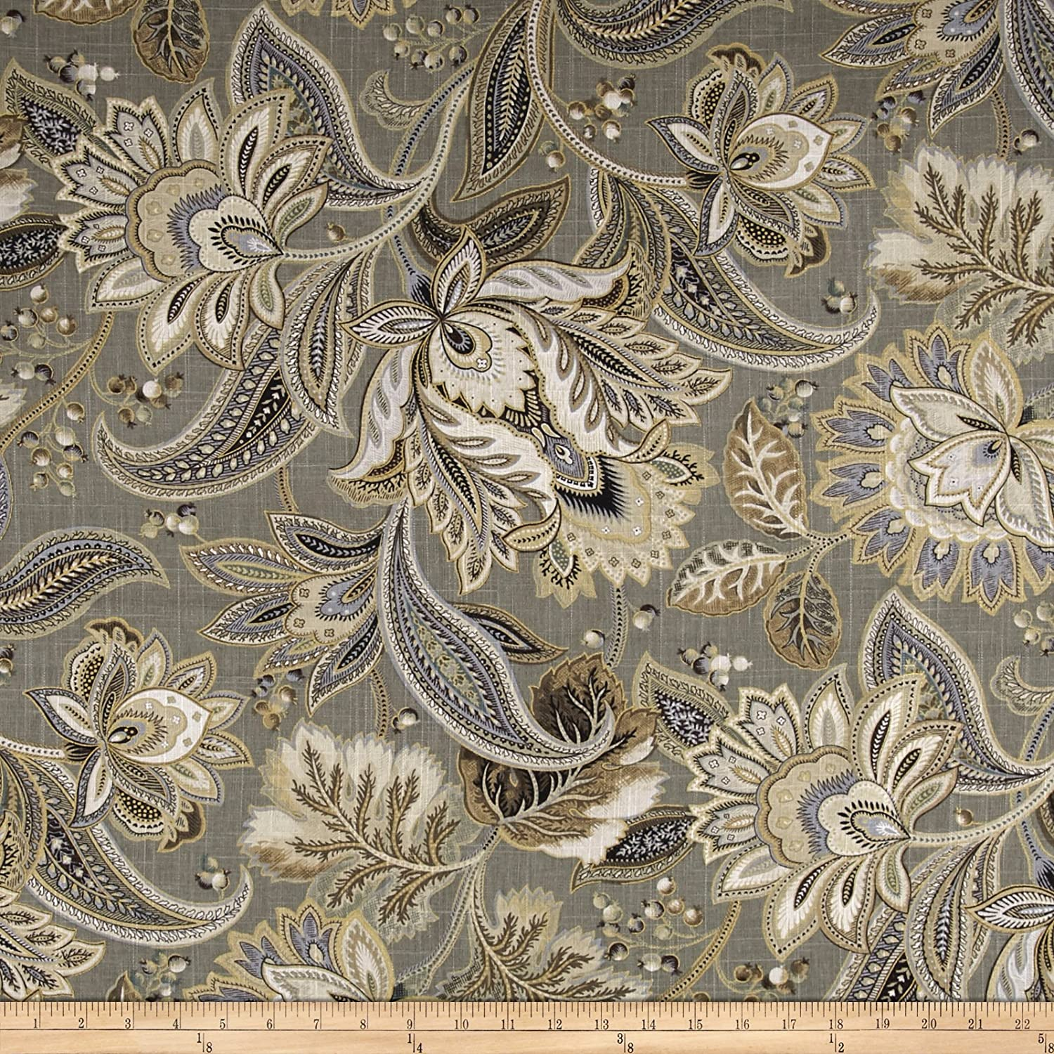 Swavelle Valdosta Platinum Fabric the by Yard 70% Max 80% OFF OFF Outlet