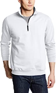 Charles River Apparel Men's Crosswind Quarter Zip Sweatshirt (Regular & Big-Tall Sizes)