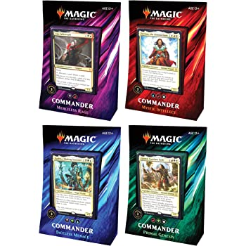 MTG Magic The Gathering 2019 Commander Set - All 4 Decks