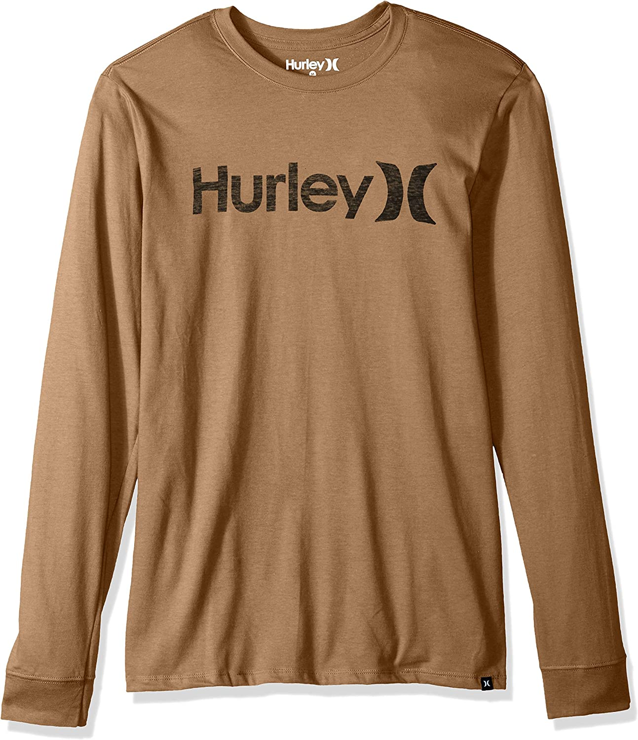 Hurley Men's One Only Push Thru Tee Long Shirt Graphic Sleeve Max 1 year warranty 68% OFF