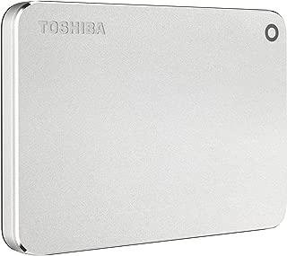 Toshiba HDTW210XS3AA Canvio Premium 1TB Portable External Hard Drive USB 3.0, Silver