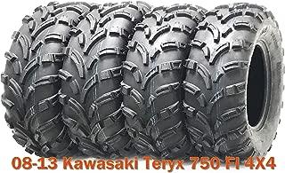Set of 4 ATV UTV Tires 26x8-12 & 26x10-12 for 08-13 Kawasaki Teryx 750 FI 4X4