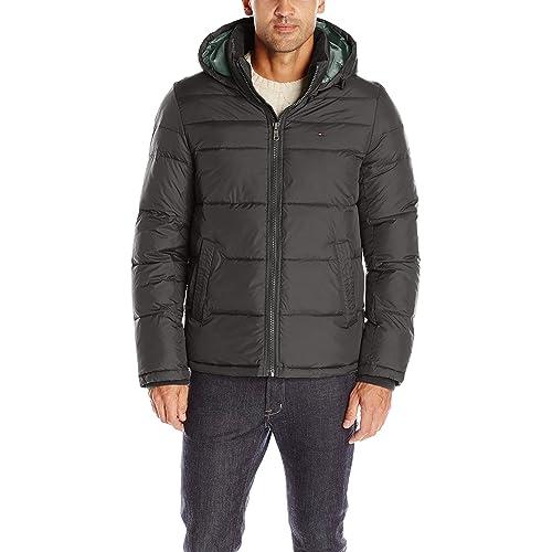 b9665c946796e Tommy Hilfiger Men s Classic Hooded Puffer Jacket