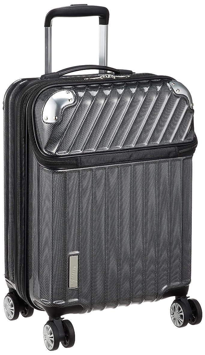 [トラベリスト] スーツケース ジッパー トップオープン モーメント 機内持ち込み可 35L 54 cm 3.4kg