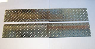 diamond plate trailer fender covers