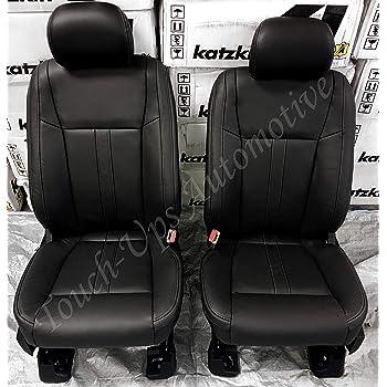 Amazon Com Katzkin Leather Seat Covers For 2019 2020 Ford F 150 Supercrew Xlt Black Lariat Design Automotive