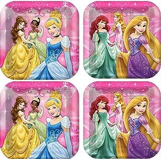 Disney Very Important Princess Dream Party Dinner Plates. 24 plates. Bundle of 3.