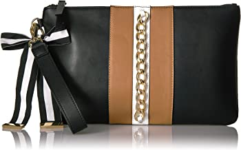 nine west black and white bag