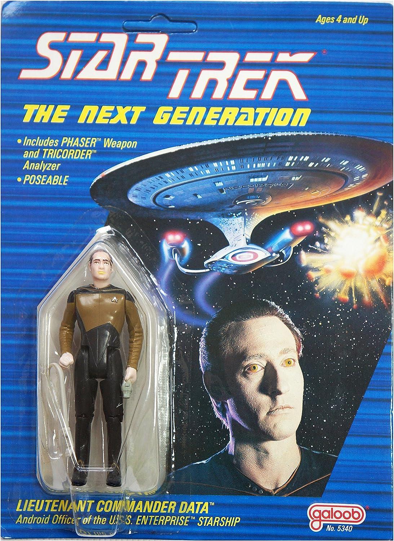 Star Trek the Next Generation Galoob Data Action Figure 1988 by Star Trek