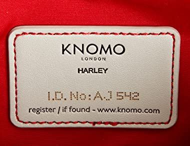 Knomo 16-602-BLK, Damen Clutch