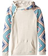 Roxy Kids - Close to You Free Spirit Hoodie (Big Kids)