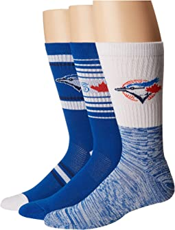 Stance Blue Jays Team 3-Pack