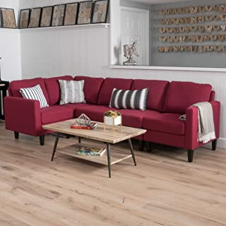 Amazon.com: Red - Sofas & Couches / Living Room Furniture: Home ...
