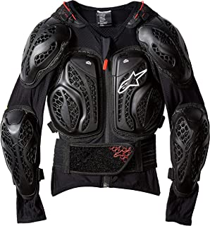 Alpinestars Youth Bionic Action Jacke, Schwarz/Rot