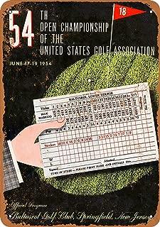CoareL 1954 US Open Baltusrol Golf Club - Vintage Look 8