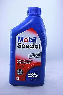Mobil Special SAE 5W-20 Motor OIL 1 Quart